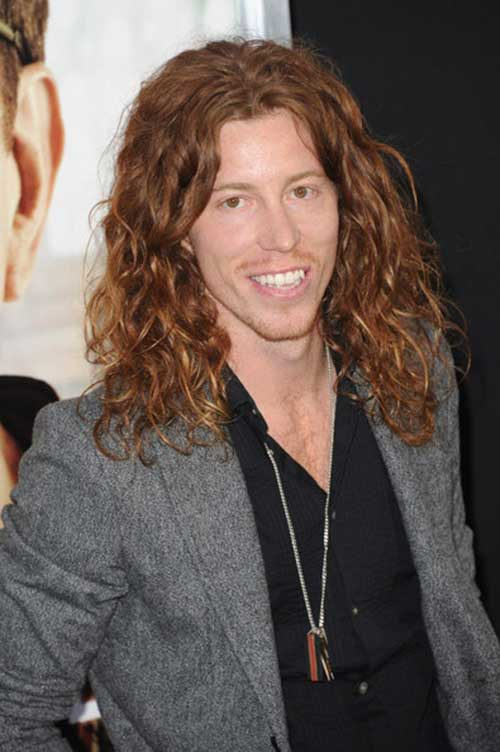 Famous Men Curly Long Hairstyle Ideas