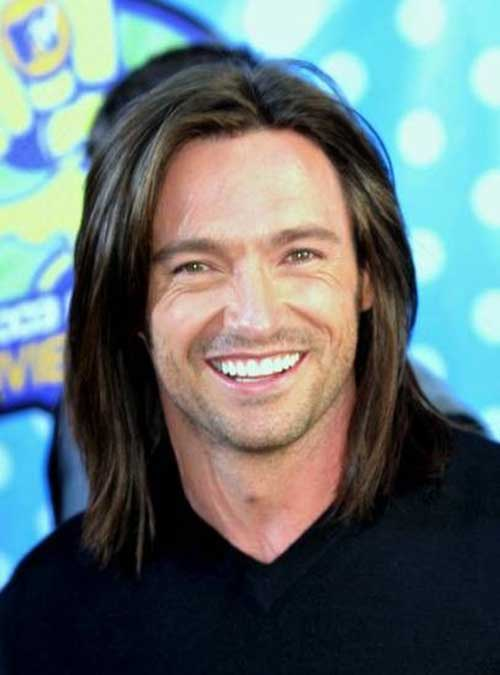 Famous Men Straight Long Hairstyle Ideas