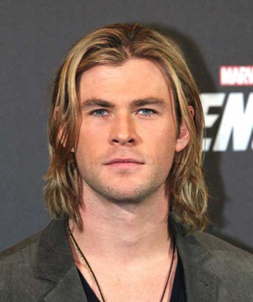Famous Men with Blonde Long Hair Ideas