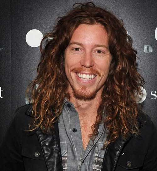 Famous Men with Curly Long Hairstyles