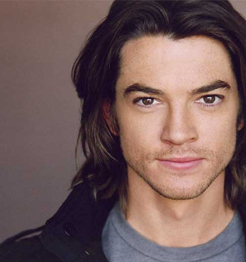 Famous Men with Dark Long Hairstyle