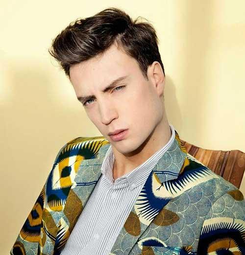 Fringe Pompadour Hairstyles for Men