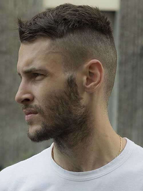 Funky Side Shaved Hairstyles for Men