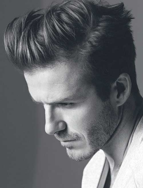 Funky Straight Hairstyles for Men