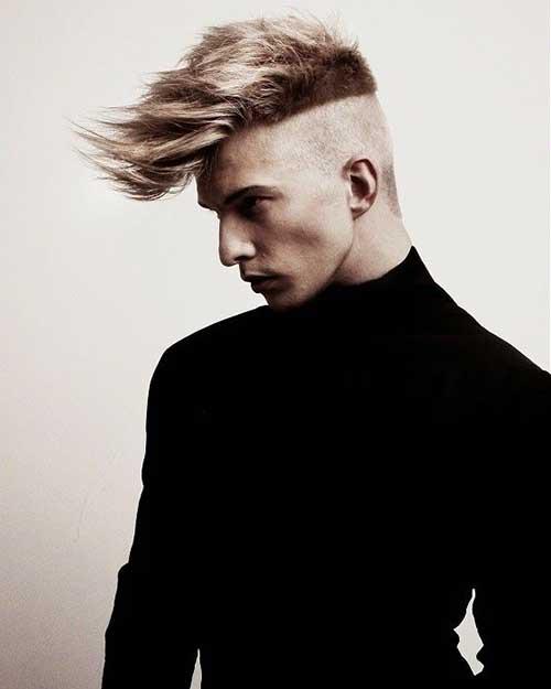 Funky Undercutt Hairstyles for Men