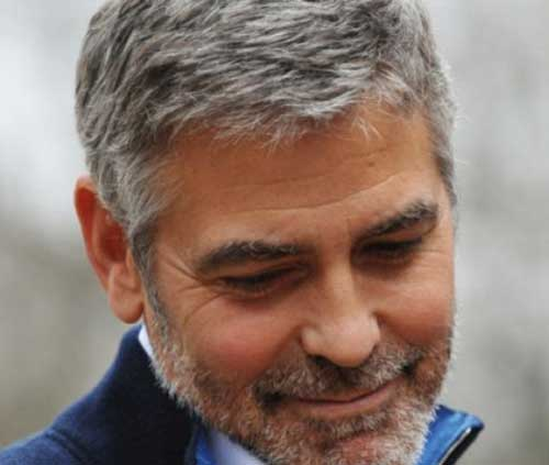 George Clooney Haircuts Pictures