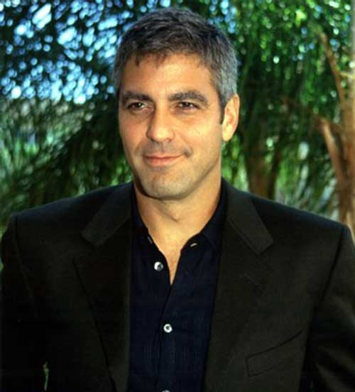 George Clooney Trendy Short Hairstyle