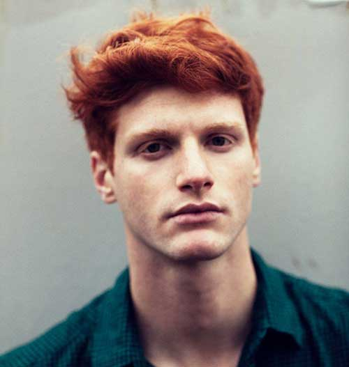 Best Haircuts For Male Redheads : Best mens thick hair hairstyles