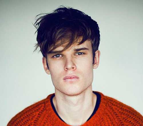 Hair Trend Mens Fringe Hairstyles