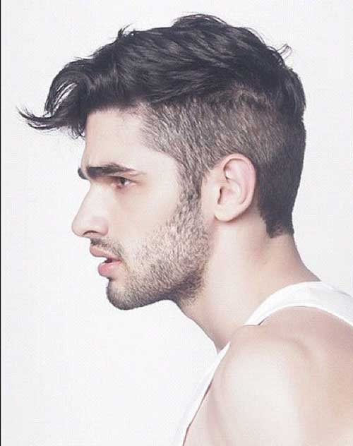 Short Side Haircuts for Wavy Hair Men