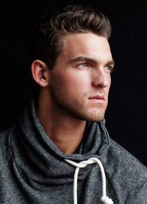 Casual Hairstyles for Long Faces Men