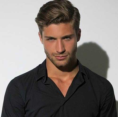 how to make straight hair mens wavy