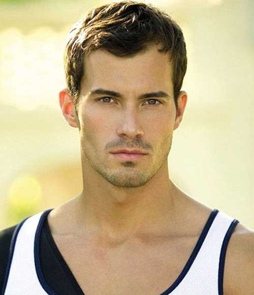 Latest Short Dark Hairstyles for Men