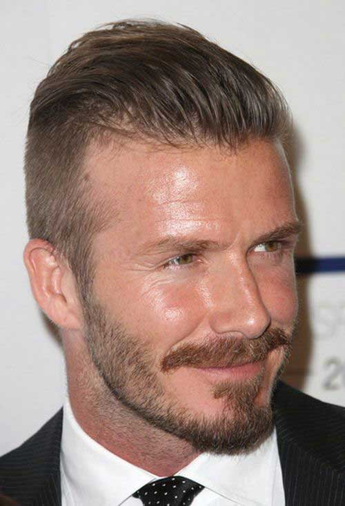 Latest Slicked Back Short Hairstyles for Men