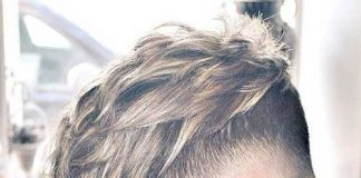Layered Blonde Hair Men