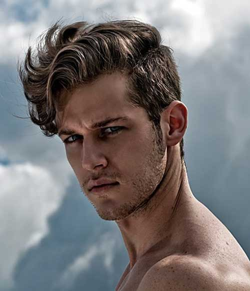 Long Top Men Wavy Hairstyles