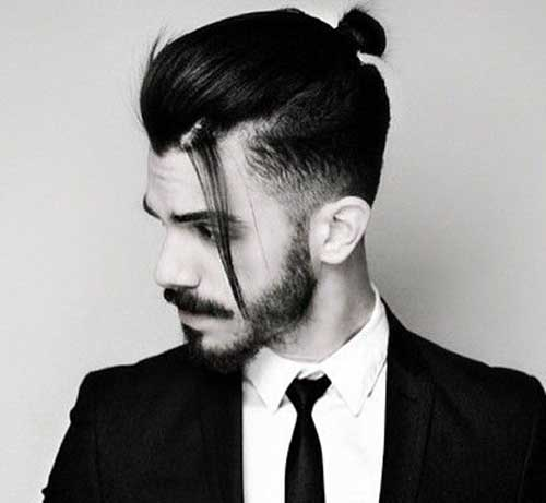 Top Man Bun Undercut