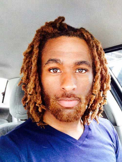 Medium Dreads Hairstyles for Men Styles