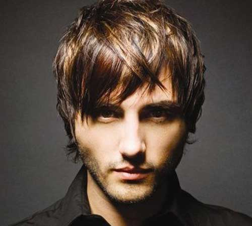 Medium Layered Haircuts for Men