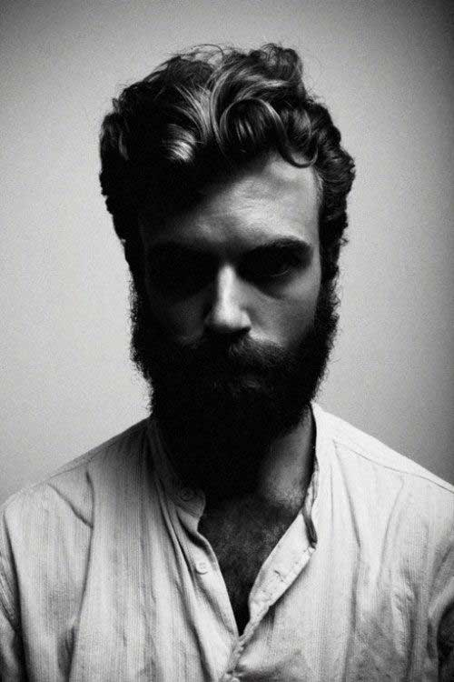 Medium Wavy Hairstyles for Men