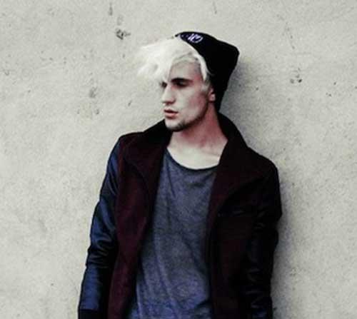 Men Platinum Hair Colour
