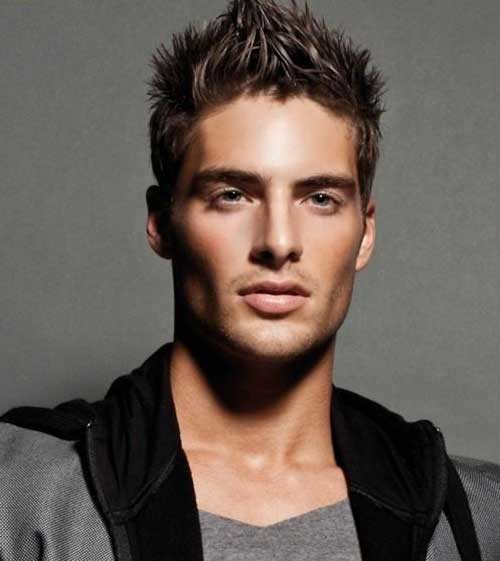 Men Haircut Ideas with Straight Hair