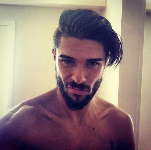 New hairstyles for men undercut 2014