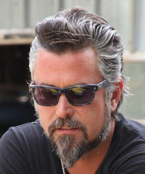 Pleasant 10 Best Men With Gray Hair Mens Hairstyles 2016 Short Hairstyles Gunalazisus