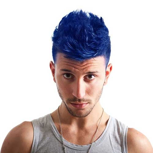 Mens Blue Hair Colour Ideas