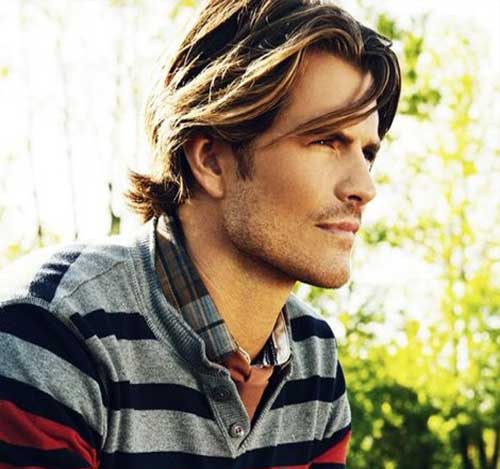Mens Fine Long Hairstyles