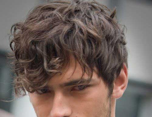 Mens Fringe Wavy Hairstyles
