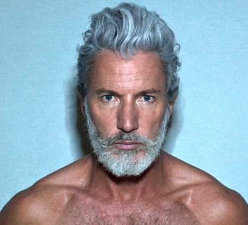 Trendy Mens Gray Hairstyles