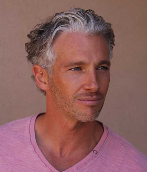 Mens Grey Hair Colour Styles