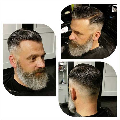 Cool Mens Hair Color for Gray