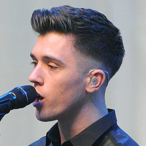 Mens Faded Haircut Styles Pictures