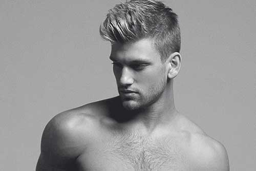 Mens Short Blonde Hairstyles Ideas