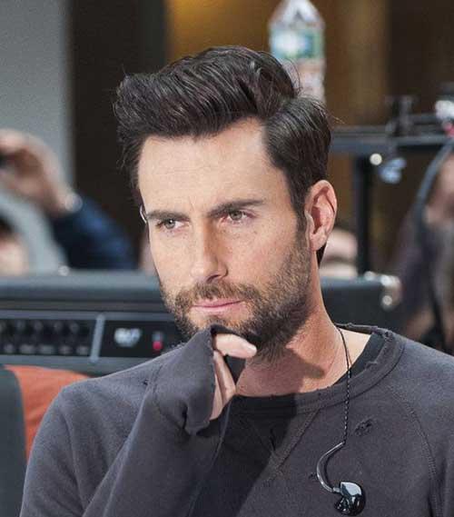 Attractive Mens Thick Dark Hairstyles