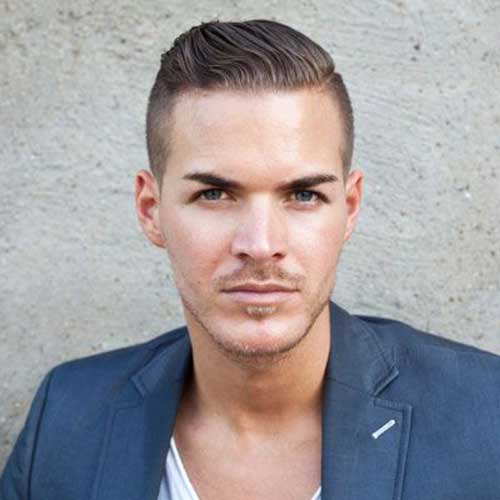 Mens Vintage Style Fine Hairstyles