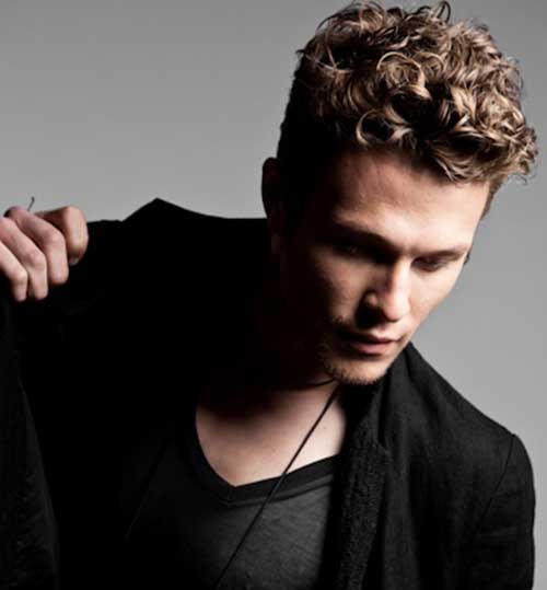 Modern Curly Mens Hairstyles 2014-2015