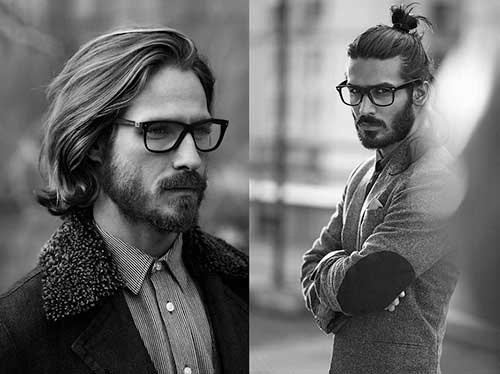 Natural Wavy Long Hairstyles Men