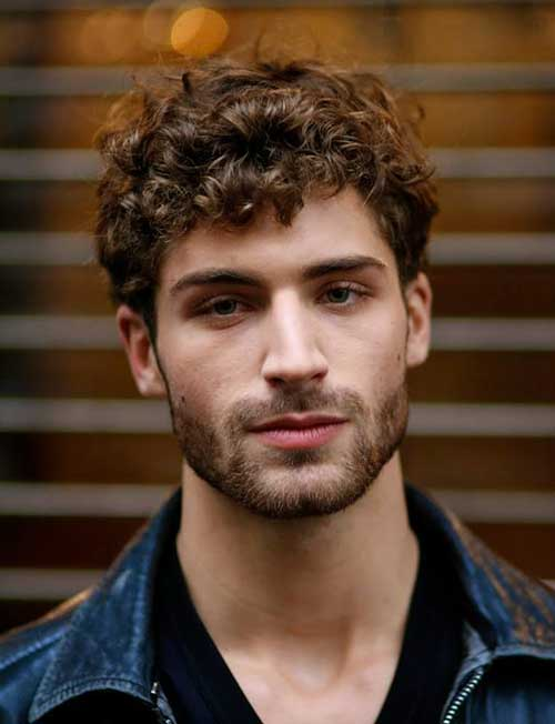 Nice Curly Men Hairstyles 2015