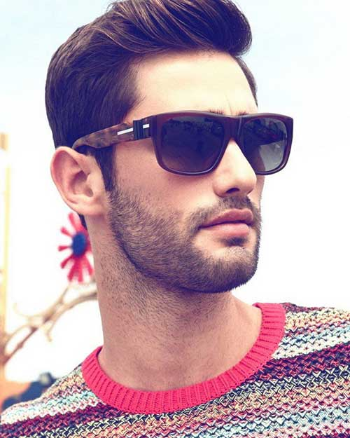 Nice Dark Haircuts for Men