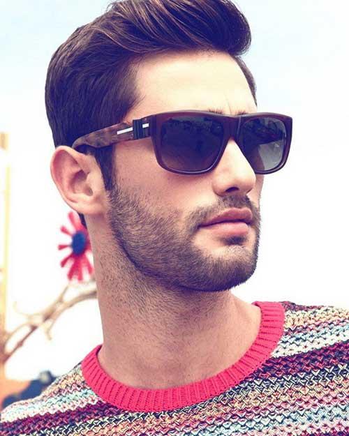 Nice Dark Haircuts for Men