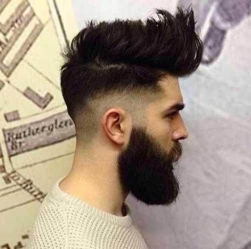 Nice Faded Haircuts for Men