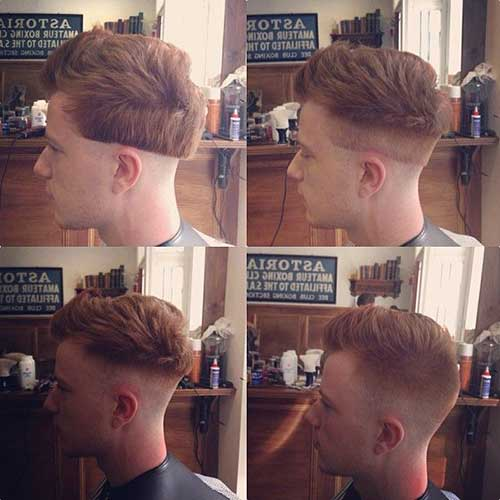 Nice Faded Shaved Haircuts for Men