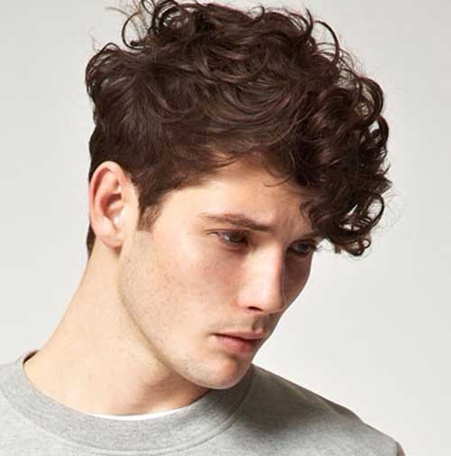 Pictures of Mens Curly Hairstyles and Haircuts