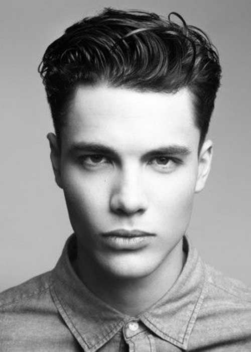 Quiff Men Wavy Hairstyles