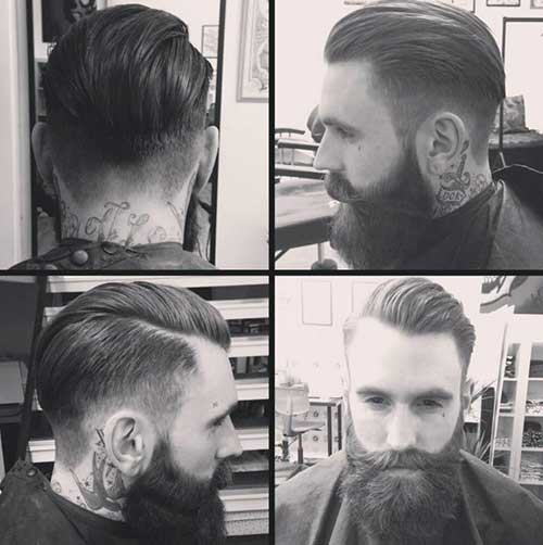Rockabilly Faded Hair for Men