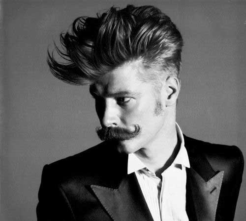 Rockabilly Fashionable Hairstyles for Men