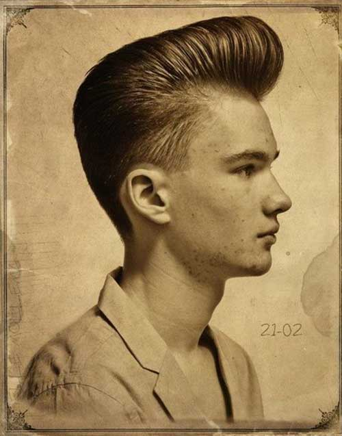 Rockabilly Pompadour Hair for Men